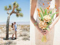 A perfect bouquet for a desert wedding
