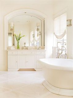 Fresh clean bathroom! Love this!