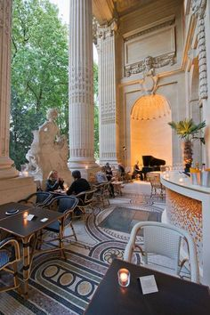 Restaurant Mini Palais, inside the Grand Palais, Paris