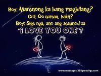Tagalog Pick Up Lines - Pick Up Lines Tagalog. Cheesy and funny tagalog pick up lines. Romantic, kilig, corny and best tagalog pick up lines Crush Quotes Tagalog, Tagalog Quotes Patama, Tagalog Quotes Hugot Funny, Pinoy Quotes, Pick Up Lines Tagalog, Hugot Lines Tagalog Funny, Love Quotes For Her, Pinoy Jokes Tagalog, Hugot Lines English