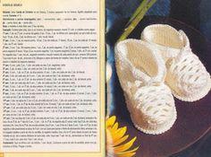 Sapatinhos de bebê em crochet