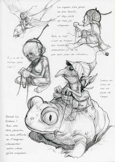 Academy of Art Character and Creature Design Notes: An Interview with Jean-Baptiste Monge, Part 1:
