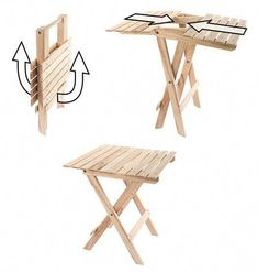 Decoration in Wood Folding Table Plans Wood Folding Table Plans Woodwork Projects Amp Tips For The Folding Table Diy, Folding Furniture, Steel Furniture, Diy Table, Diy Furniture, Furniture Websites, Folding Chairs, Petit Camping Car, Foldable Chairs