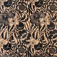 DUFY, Fleurs (Projet de tissu pour la Maison Poiret)