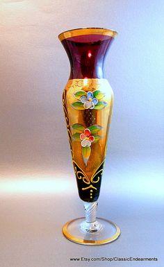 Murano Venetian Vase
