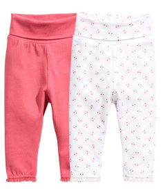 H&M jersey trousers - $14.99 (for both, sleeping bottoms)