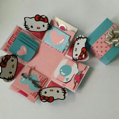 I'm selling Handmade Explosion Box _Hello Kitty design 凯蒂猫礼物盒卡片 for RM65.00. Get it on Shopee now!https://shopee.com.my/cindylaisl6746/84678436/ #ShopeeMY
