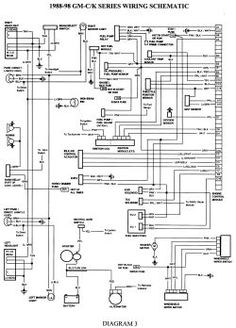 gmc truck wiring diagrams on gm wiring harness diagram 88 98 kc rh pinterest com 1979 Ford F-150 Wiring Harness Ford Truck Radio Wiring Diagram