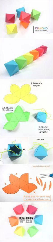 DIY Diamond Gift Boxes | DIY Fun Tips