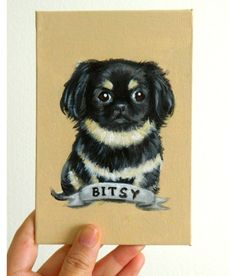 Custom Dog Portrait / Custom Pet Portrait  1 by TheStardustStudio, $24.95