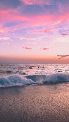 53 ideas for photography beach sunset peace - Wallpaper Pastel, Ocean Wallpaper, Nature Wallpaper, Of Wallpaper, Wallpaper Awesome, Travel Wallpaper, Scenery Wallpaper, Photography Beach, Landscape Photography