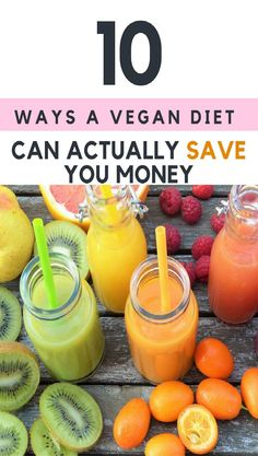 10 ways transitioning to a vegan diet and lifestyle can actually save you money. Cheap recipes, breakfast, dinner, groceries, staples, meals, snacks, dessert. #cheapvegan #vegandiet #veganlifestyle