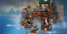 LEGO.com The Hobbit™ Products - Attack on Lake-town