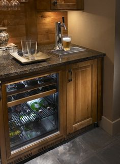 Is your glass half empty or half full? It doesn't matter when you have a Perlick Beer Dispenser in your home. This is the ultimate man (or woman) cave item!