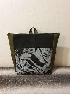 Blue Eco Chic Seashells Foldable Backpack BNWT