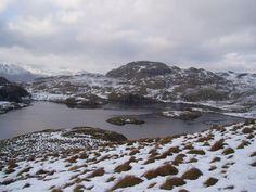 Angle Tarn, Lake District, Winter