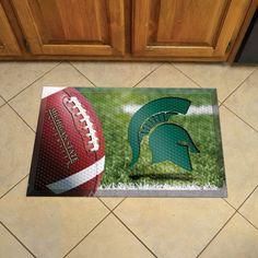 Michigan State University Doormat Scraper - Ball