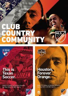 Новая айдентика Major League Soccer | Реклама Маркетинг PR - SOSTAV.RU