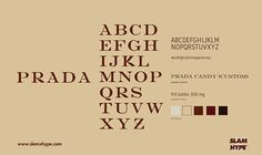 the Romantic Movement: [Voicer] Typo: The Fonts of Fashion Typography Fonts, Lettering, Web Design, Logo Design, Graphic Design, Prada Candy, Graffiti Characters, Brand Fonts, Brand Guidelines