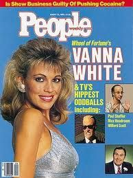 Vanna White on the cover of People - August 25, 1986