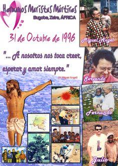 Cartel de nuestros mártires. Autor: Víctor Lebrero.