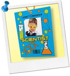Science Teacher Burlap Hanger Teaching Other And My Birthday - Mad scientist name tag template