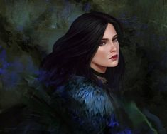 Yennefer, Ksenia Kim on ArtStation at https://www.artstation.com/artwork/05nOK