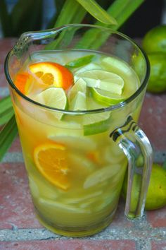 Cucumber lime orange
