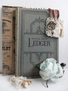 Vintage Ledger book