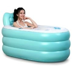 NEW Fashion Adult SPA Inflatable Bath Tub with Air Pump