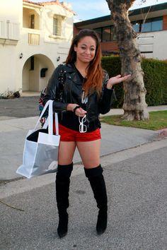 Raven Symone - Raven Symone Shopping in LA  blackwomeninboots.blogspot.com
