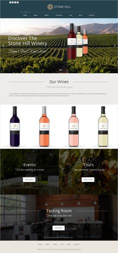 Stone hill is wonderful #HTML template for #vineyard and #winery website download now➩ https://themeforest.net/item/stone-hill-vineyard-and-winery-site-template/17604902?ref=Datasata