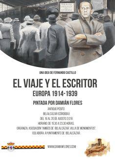 El Viaje y el escritor en Belalcázar Videos, Movies, Movie Posters, Writers, Exhibitions, Castles, Voyage, Board, Films