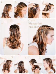 Frisuren Lange Haare Anleitung Stylen