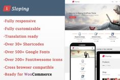 iSloping – Responsive Multipurpose by Legacy Themes on Creative Market