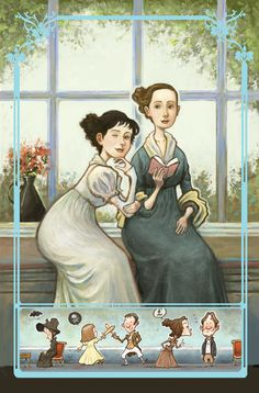 "Marvel Comics ""Sense and Sensibility"""