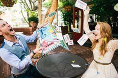 Even if you aren't looking for a highly stylized engagement session, you might still want to add some visual interest (and personality) to your images with a few simple and fun engagement photo props!