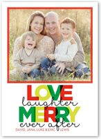 Flat Premium Stock 1 Photo Holiday Cards, Holiday Photo Cards & Holiday Greetings   Shutterfly   All Items