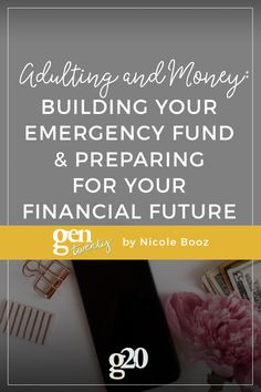 Adulting and Money: Build An Emergency Fund & Prepare For The Future Budgeting Finances, Budgeting Tips, Credit Repair Services, Sinking Funds, Money Saving Tips, Money Tips, Managing Money, Financial Tips, Financial Planning