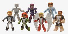 All-New X-Men Marvel Minimates - Cyclops, Iceman, Marvel Girl ...