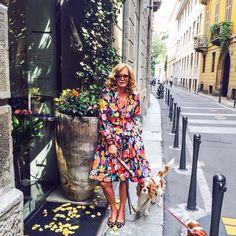 Avevo voglia di un #vestito a #fiori