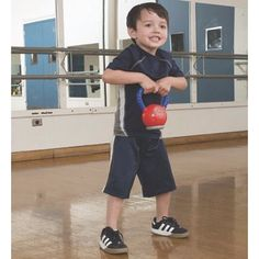 @TheReviewStew Holiday Gift Guide. Now when you do your kettlebell workout, your child can follow along. Our .5 lb. toy kettlebell is light enough for kids to swing and lift safely, while encouraging a love of fitness.