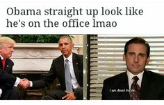 Obama The office