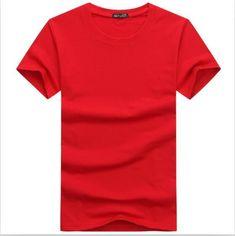 BINYUXDHot Sale high quality fashion T Shirt large size Men T-Shirt Short  Sleeve Solid