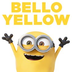 BELLO YELLOW. | Minions Movie | In Theaters July 10th