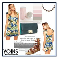 """""""YOINS 1"""" by damira-dlxv ❤ liked on Polyvore featuring мода и yoins"""
