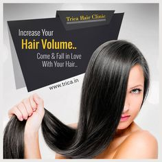 #TricaHairClinic provides different hair care services such as Hair volume boosters, Rainbow Scalp Care System etc to enhance the natural beauty of hair. To know more visit : http://www.trica.in/technologies.html