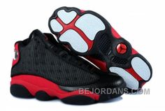 Authentic Cheap Air Jordan 13 Wholesale Authentic Cheap Air Jordan 13 Shoes  Built-in Cushion Black Red