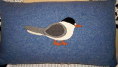 A small shop with pillows,wall hangings and framed art made from recycled woolen sweaters and blankets as well as nature-inspired linocut prints. Shorebirds, Linocut Prints, Wool Blanket, Framed Art, Recycling, Pillows, Inspiration, Design, Fleece Blanket Edging