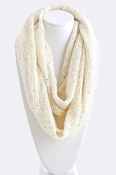 Ivory Leanna Infinity Scarf on Emma Stine Limited - I love it!!